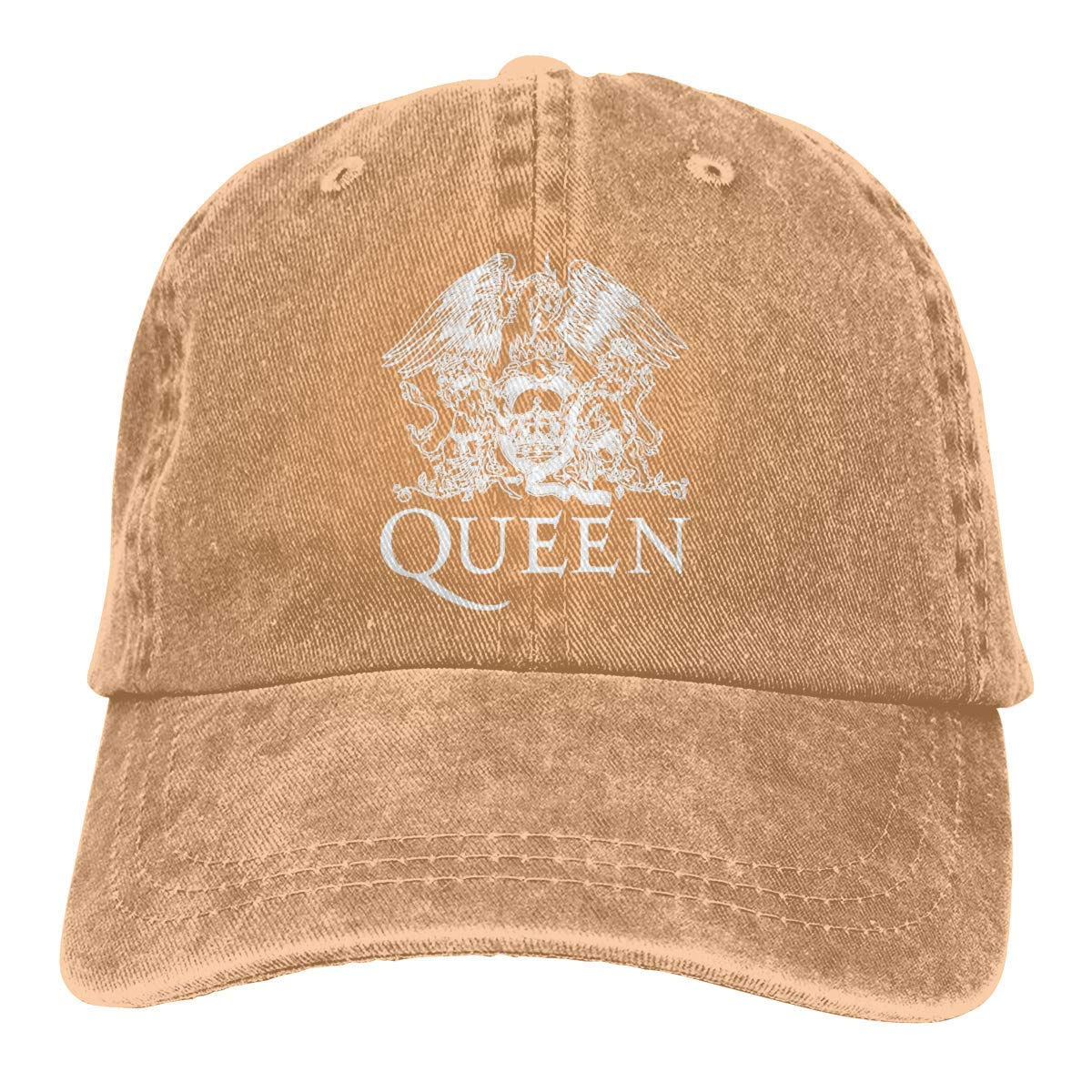 YINGSSMZ Queen Band Sports Denim Cap Adjustable Snapback Casquettes Unisex Plain Baseball Cowboy Hat Black