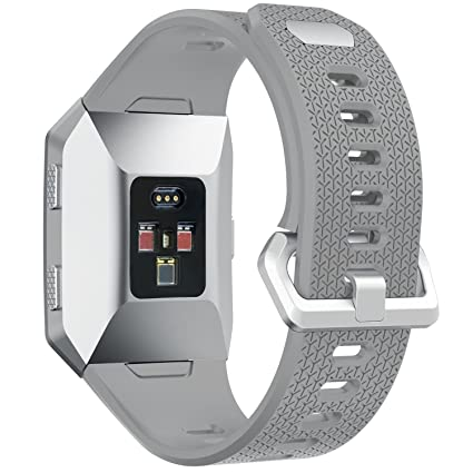 Amazon.com: runtenic Fitbit Ionic Correa de Reloj de pulsera ...