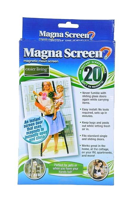 Amazon.com: MAGNA MESH SCREEN HAS 20 MAGNETS: Home Improvement