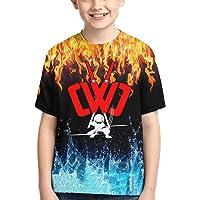 Child Cwc Chad Wild Clay Shirt Boys Girl 3D Print Short Sleeve T-Shirt