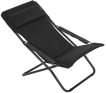 Lafuma Chaise longue, Pliable et réglable, Transabed, Air Comfort on