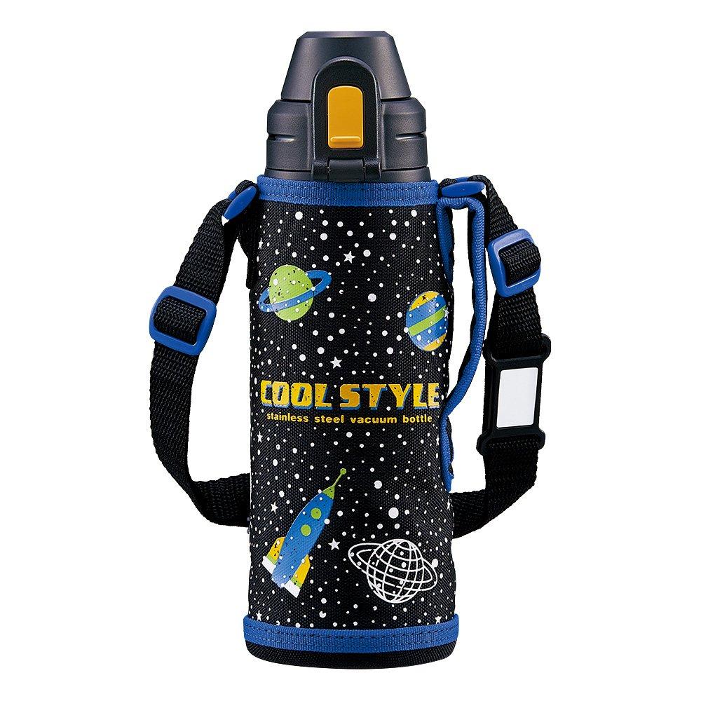 ZOJIRUSHI Stainless Steel Cool Flask - Sports Type (520ml Capacity) Black SD-AL05-BA