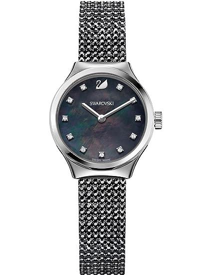 Swarovski Reloj analogico para Mujer de Cuarzo con Correa en Acero Inoxidable 5200065: Amazon.es: Relojes