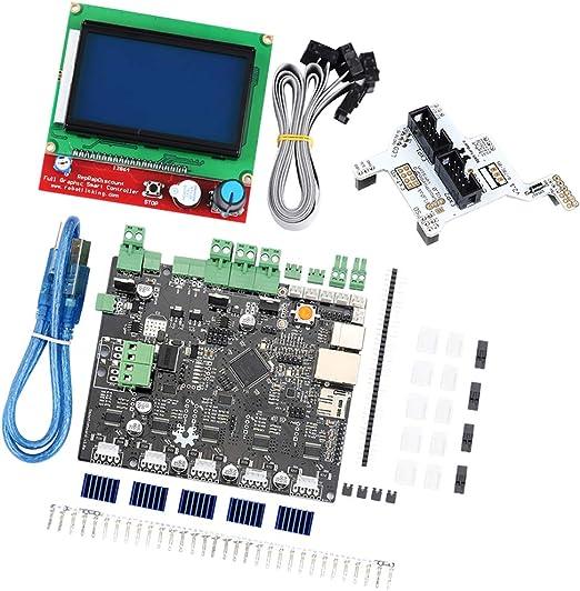 Kesoto Smoothieboard 5X V1.1 + 12864 Pantalla LCD con Adaptador ...