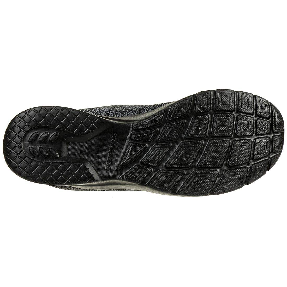 Skechers Sport Dynamight 2.0 in A Flash Women Air Cooled Memory Foam Slip on Sneaker Black