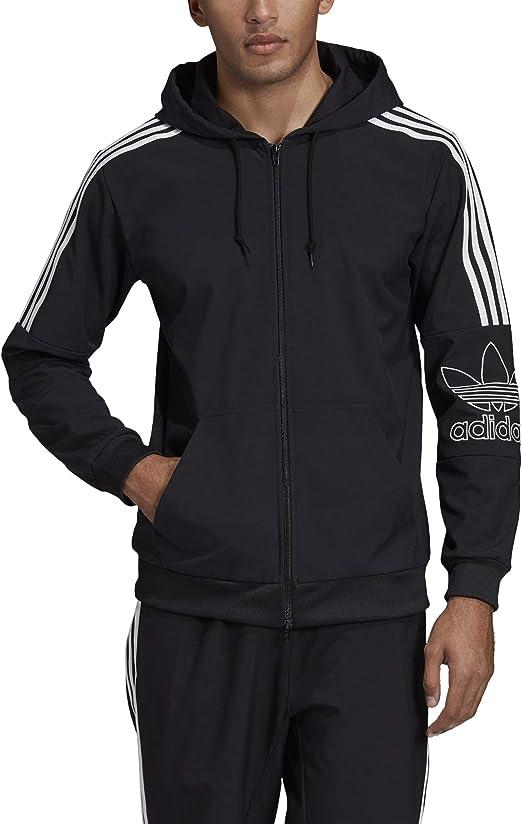 Adidas Outline Fullzip Hoody Legend Marine: