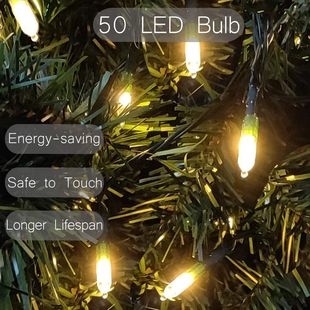 Energizer Battery Operated 50 Multi-Function Christmas Lights
