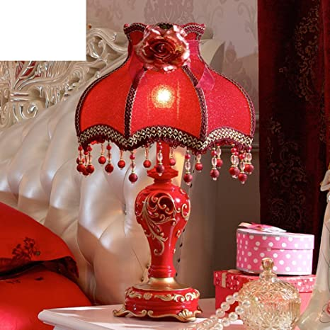 Wedding Table Lamp/Bedroom Bedside Table Lamps/Luxurious ...