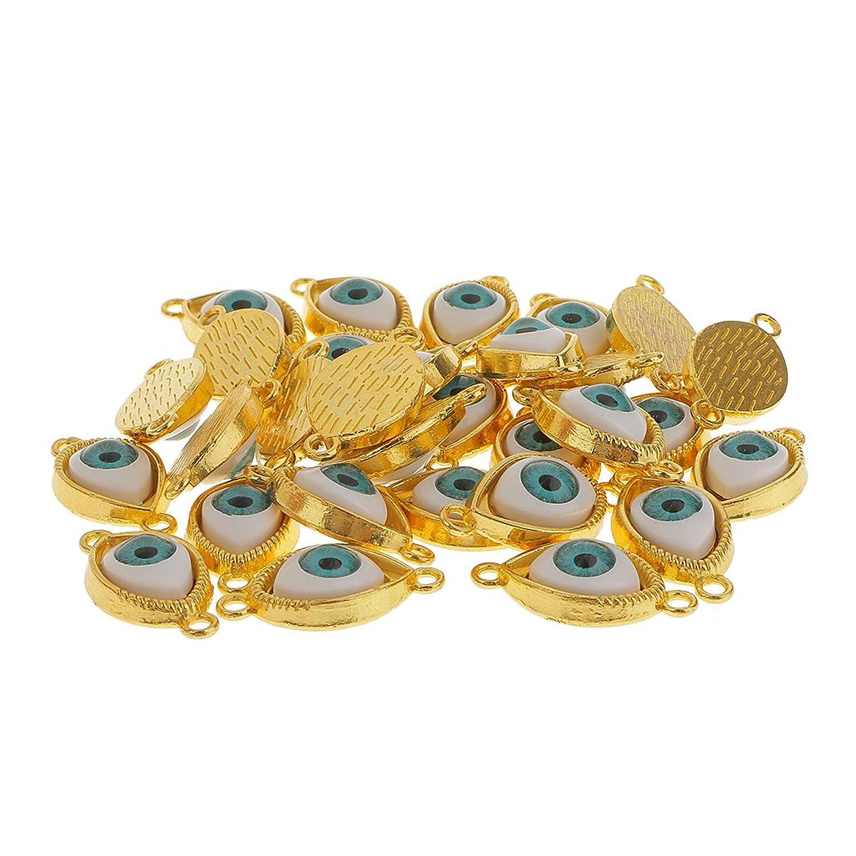 pcs Granos Forma de Mal de Ojo Amuleto Aleación para Colgantes Joya