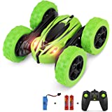 BIFYTON Remote Control Car, RC Car Remote Control Stunt Car Double Sided Rotating Tumbling 360 Degree Flips, RC Truck with LE
