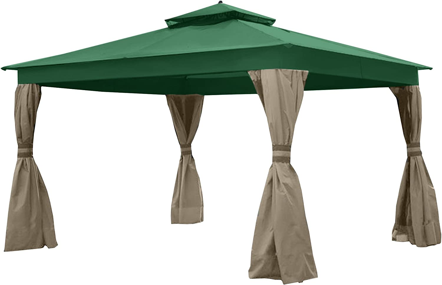 Will NOT FIT Model GF-12S004B-1 Riplock 350 Garden Winds Replacement Canopy for Lowes Dome 10 x 12 Gazebo Replacement Canopy Green