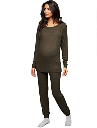 78ab9696be6b1 A Pea in the Pod Under Belly Jogger Maternity Pants at Amazon Women's  Clothing store: