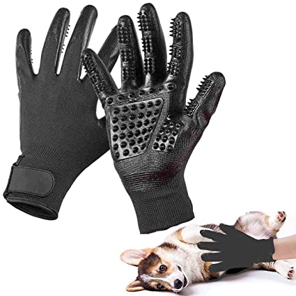 Amazon.com : Superjune 1PC Pet Dog Cat Ninja Grooming Gloves ...