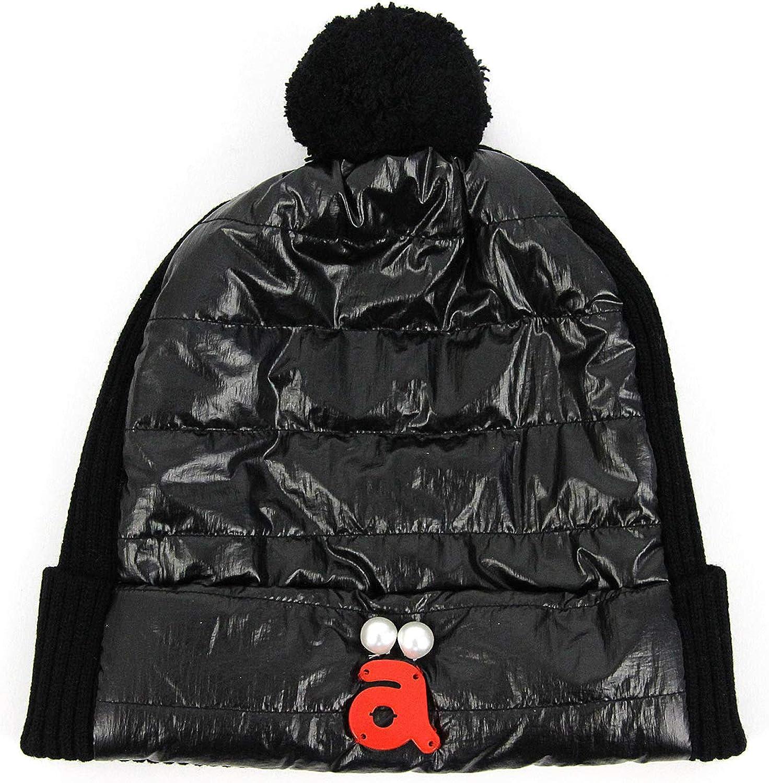 ニット帽 レディース アルチビオ archivio ゴルフ a910026 ブラック(001) F(00)