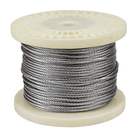 Amazon.com: IZOKIN - Cable de alambre de acero inoxidable ...