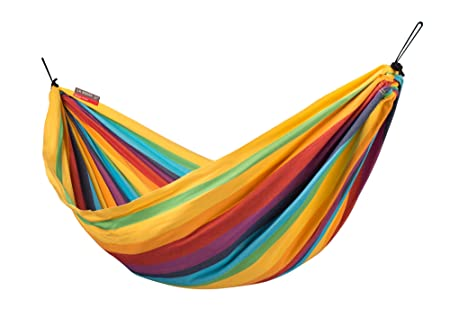 LA SIESTA Iri Rainbow – Cotton Kids Hammock