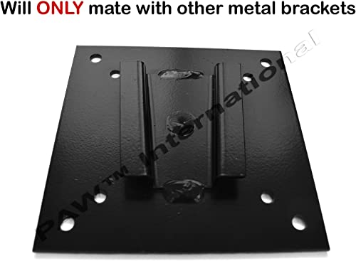 Steel TV Bracket Mount for Campers and RVs NOT PAW International Polymer VESA 100mm 75mm