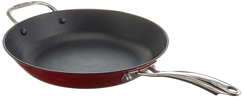 Cuisinart CIL22-20BBN Castlite - Sartén de hierro fundido antiadherente: Amazon.es: Hogar