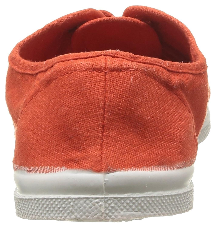 Bensimon Tennis Lacet - Zapatos de cordones para mujer, color rose thé 438, talla 36