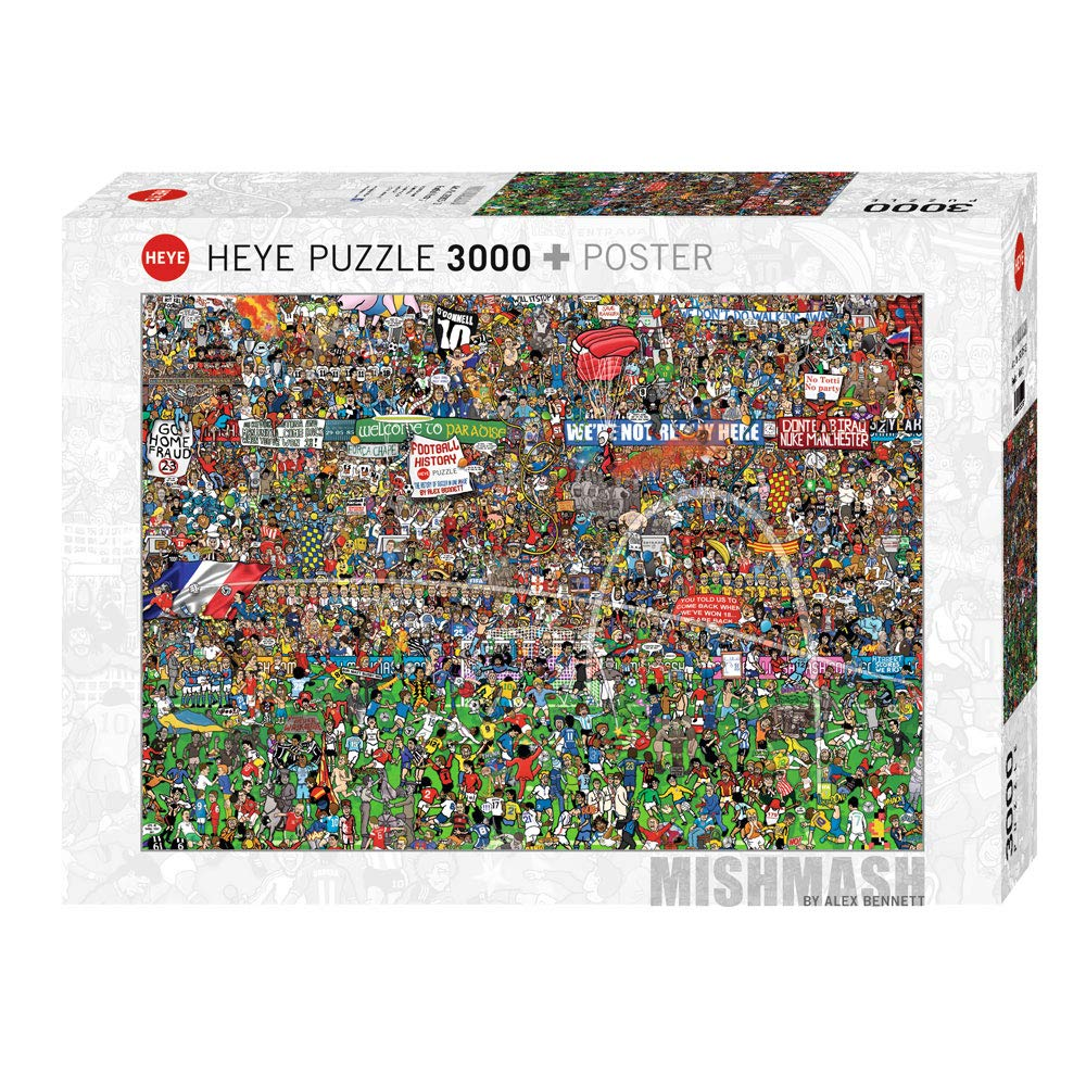 Heye Football History Puzzles (3000-Piece)