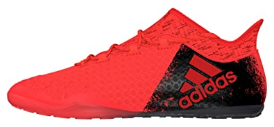 Hommes X 16,1 Tribunal Chaussures De Football, Adidas Arancione