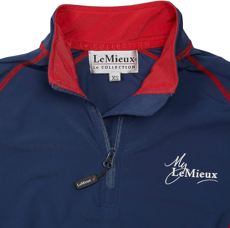 LeMieux Ladies Base Layer Navy /& Red