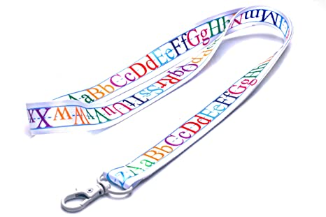 Amazon.com: Llavero de cordón para profesor con cierre de ...