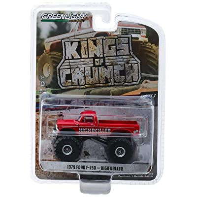 Greenlight 49030-D Kings of Crunch Series 3 High Roller 1979 Ford F-350 Monster Truck 1:64 Scale: Toys & Games