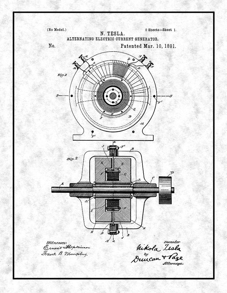 Electric Generator Diagram