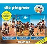 Die Playmos - Die Große Cowboy und Indianer-Box, Folge 21, 32 und 35; 3-Original-Hörspiele
