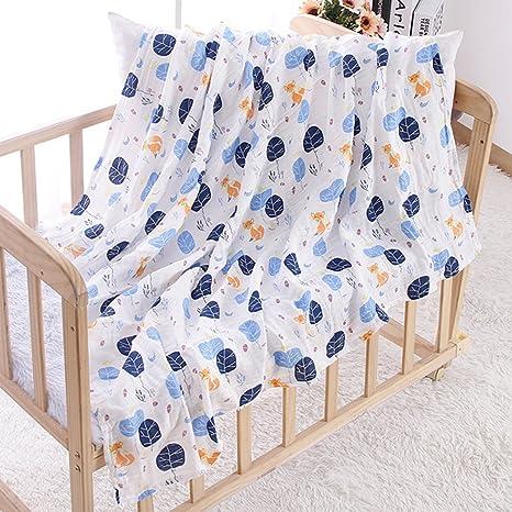 Manta de dormir para bebé recién nacido, colcha de algodón ...