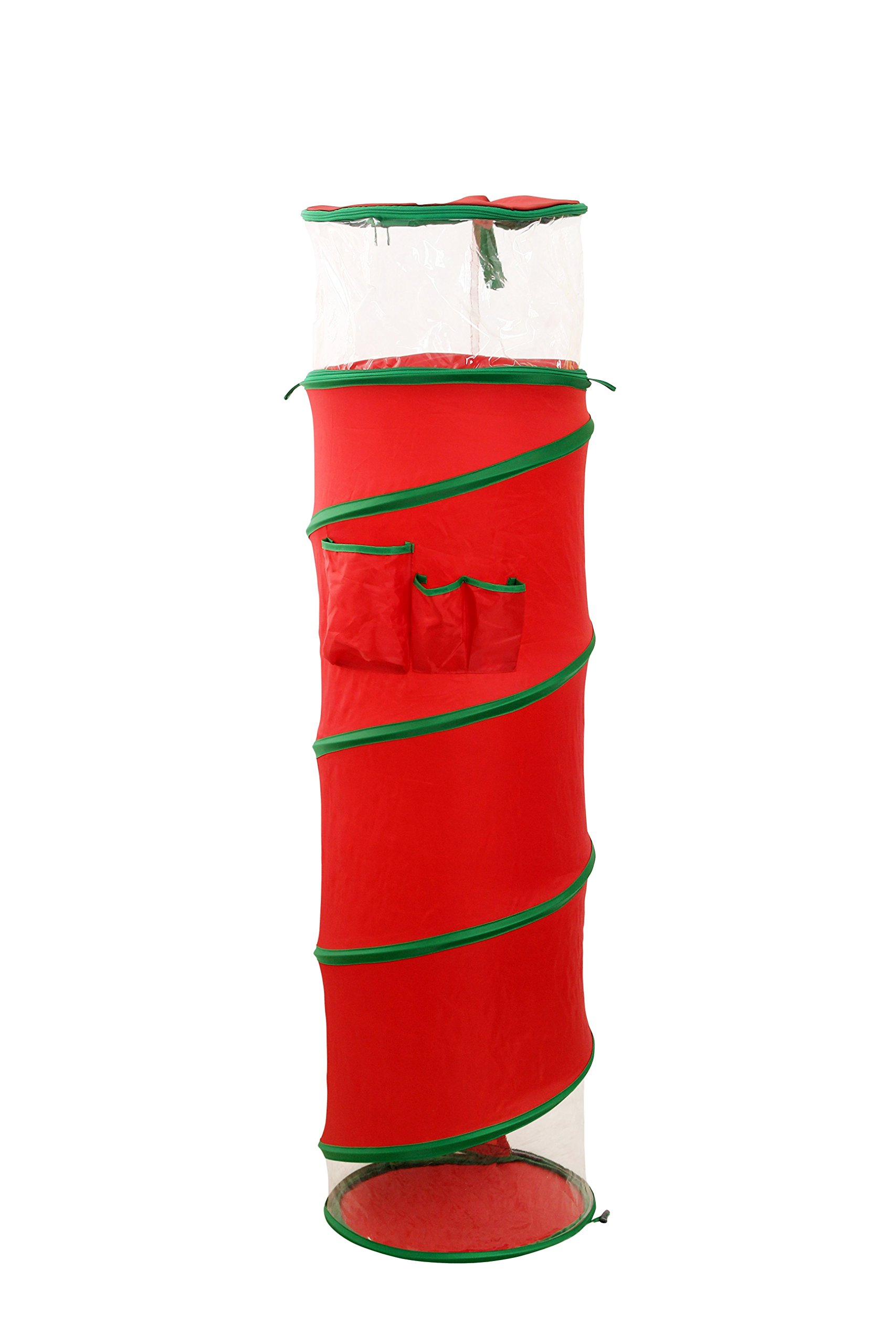 nGenius Hanging Pop Open Gift Wrap Storage Organizer - Large Size, for rolls up to 40in