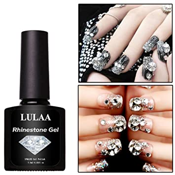 1pc Fast Drying False Nail Tips Glue Diy Nail Glue Rhinestone Adhesives Super Sticky Tools Uv Gel Beauty & Health