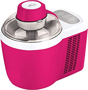 Cooks Essentials Ice Cream Maker Powerful 90W Motor Thermo Electric Self-Freezing System K45559154000 (Renewed)