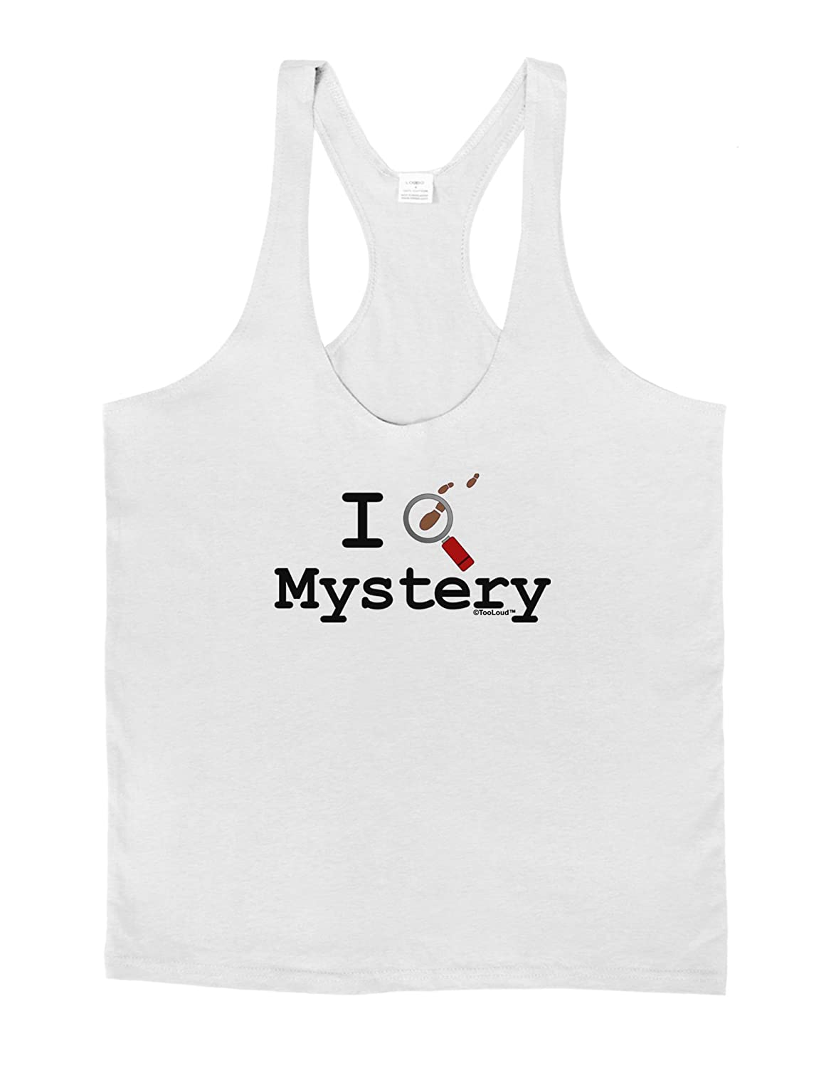 TooLoud I Love Mystery Mens String Tank Top