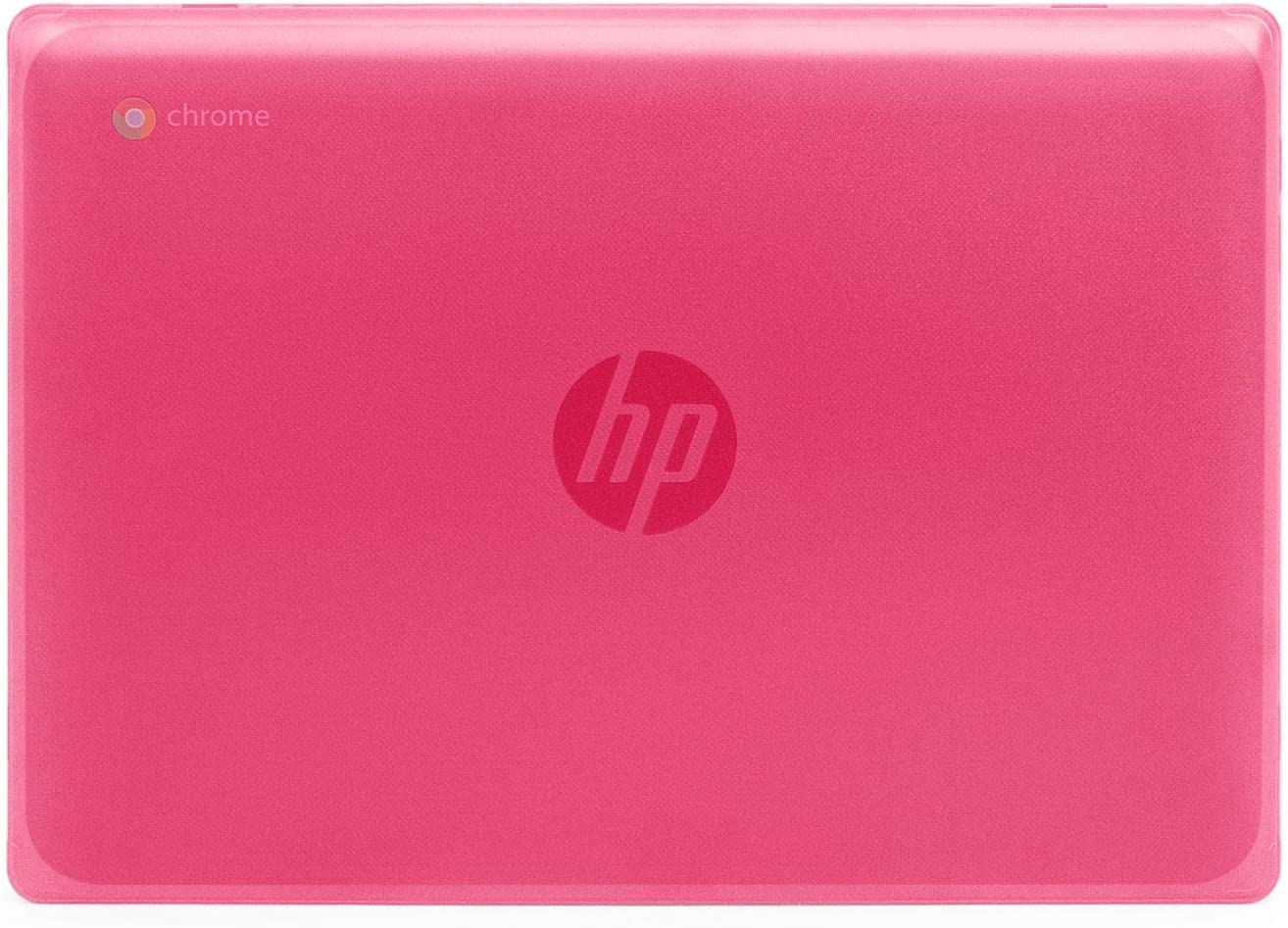 "mCover Hard Shell Case for New 2020 11.6"" HP Chromebook 11 G8 EE laptops (Pink)"