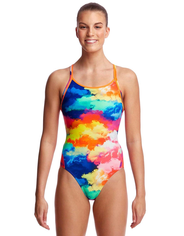 Funkita Strapped In One Piece Swimsuit Women Knitty Gritty 2018 Schwimmanzug