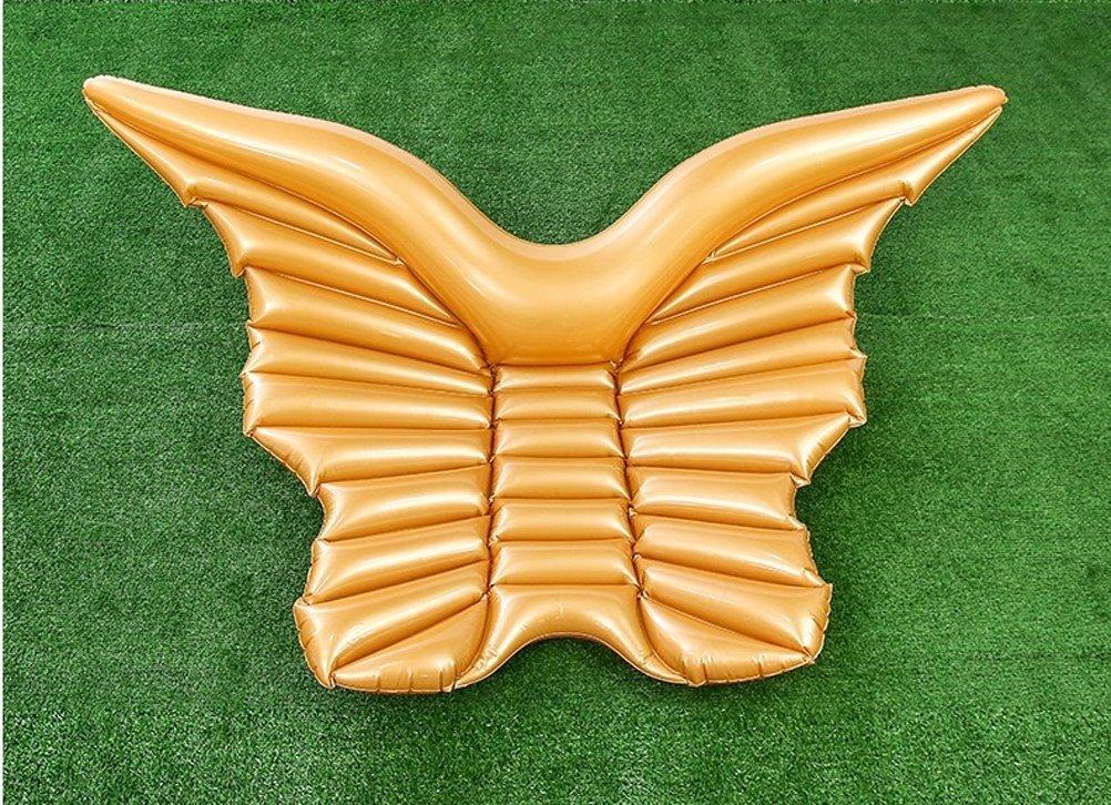 Casa jardín de alas de ángel flotador gran flotador hinchable para fiestas de piscina juguete hinchable de verano juguete fiestas piscina Talla: 250 * 180 ...