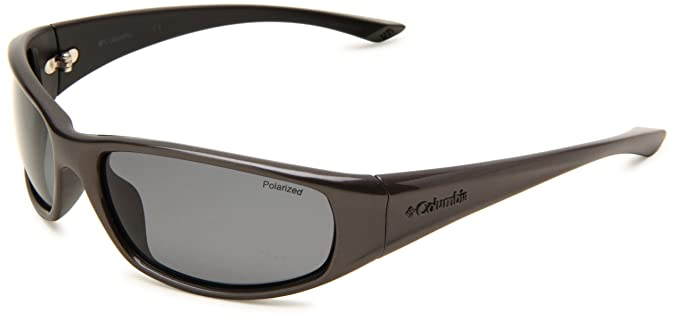 f10a2d995728 Columbia Borrego Sport Sunglasses,Dark Metallic Frame/Black Lens,one size