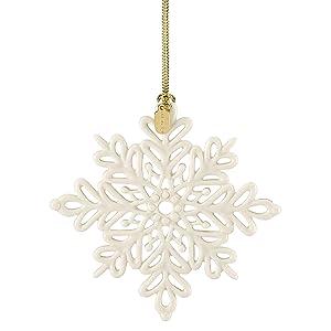 Lenox 884554 2019 Snow Fantasies Snowflake Ornament