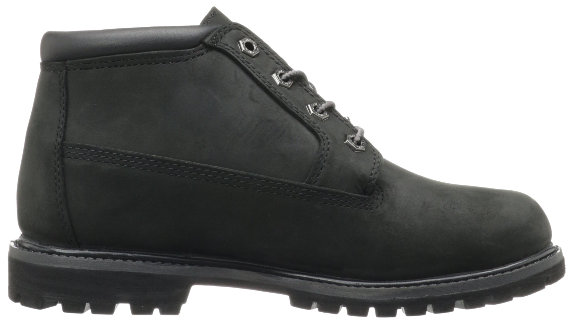 Timberland Women's Nellie Double WP Ankle Boot,Black,6 M US by Timberland (Image #6)