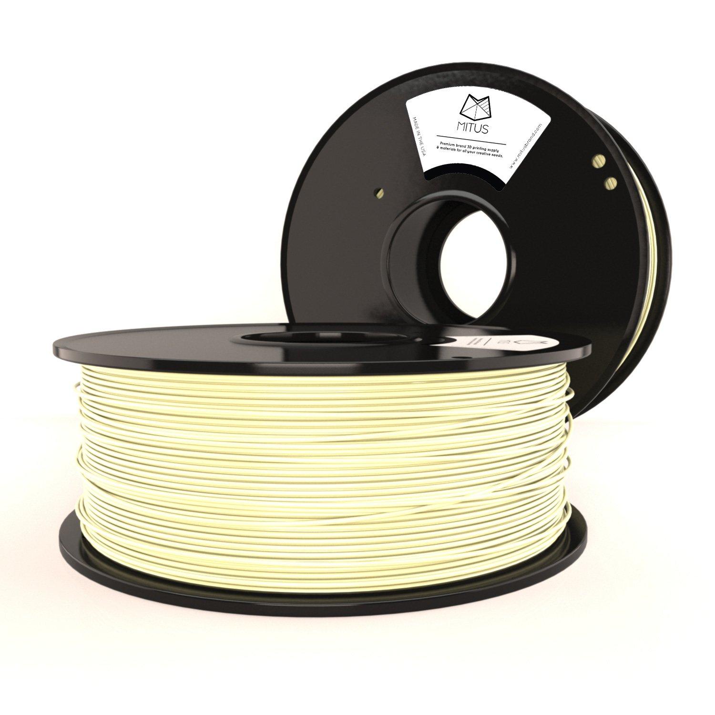 Mitus ABS Filamento 3 mm (2.85 mm) 1 kg para Impresión 3d, hecho ...