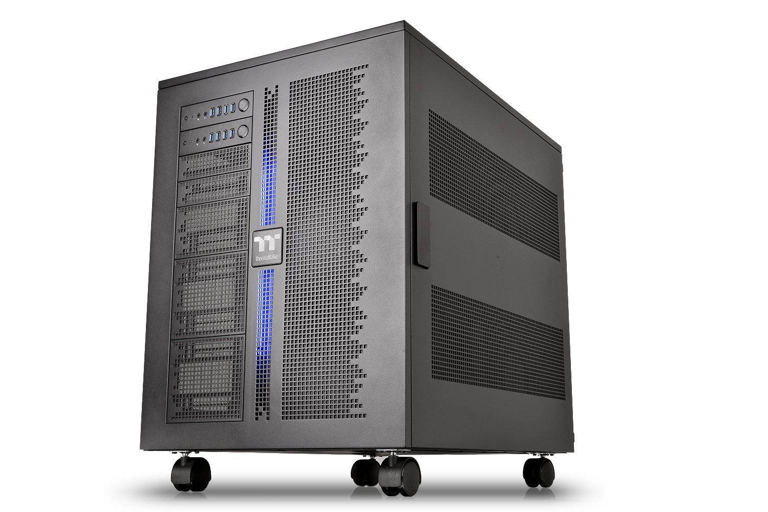 Thermaltake Core W200 Dual System Capable Extreme Water Cooling XL-ATX Fully Modular/Dismantle Stackable Tt Certified Super Tower Computer Case CA-1F5-00F1WN-00