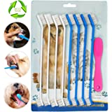 Dog Toothbrush,Pets Silicone Finger Toothbrushes,Dental Hygiene Brushes for Small Large Dogs 6pcs (9)