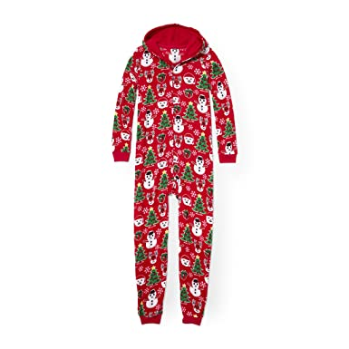 The Children s Place Baby Little Boys  Christmas Long Sleeve One-Piece  Pajamas d0a0e544a