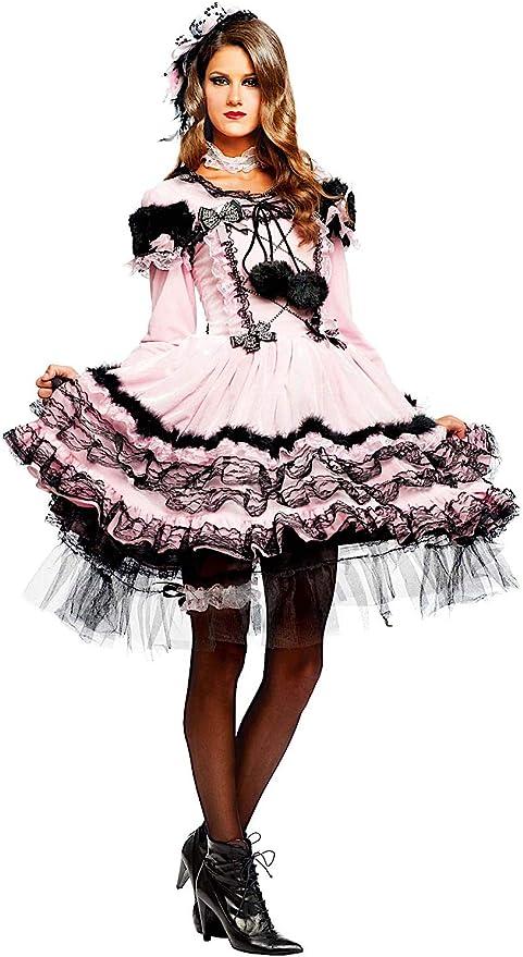 Disfraz Bailarina Viejo Oeste Vestido Fiesta de Carnaval Fancy ...