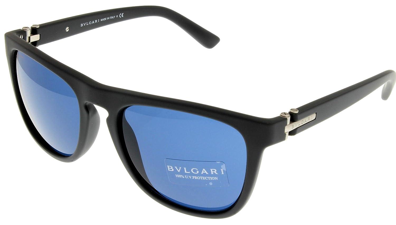 Amazon.com: anteojos de sol Bvlgari Mens gris goma ...