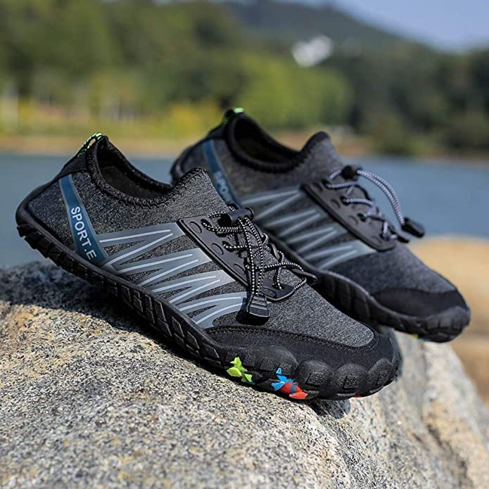 Amazon.com | Coco-Z 2019 New Summer Unisex Quick-Dry Water Shoes Pool Beach Swim Drawstring Shoes Creek Diving Shoes | Rain Footwear