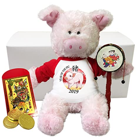 Amazon com: Chinese New Year 2019 Year of the Pig Personalized Gift