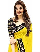 Sarees (Saree for Women Latest Design 2018 Sarees New Collection Fancy Saree Party wear Designer Sarees below 300 Rupees Sarees below 500 rupees With Blouse Saree)
